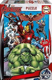 Educa - 15933 - Puzzle Classique - Avengers - 200 Pièces