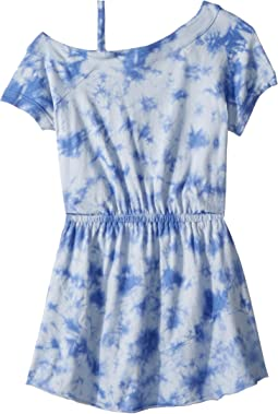 One Shoulder Tie-Dye Dress (Big Kids)