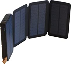 SunJack 5W Solar Power Bank External Portable Battery Charger with Flashlight for Cell Phone, iPhone, iPad, Samsung, Backpacking, Camping, Hiking