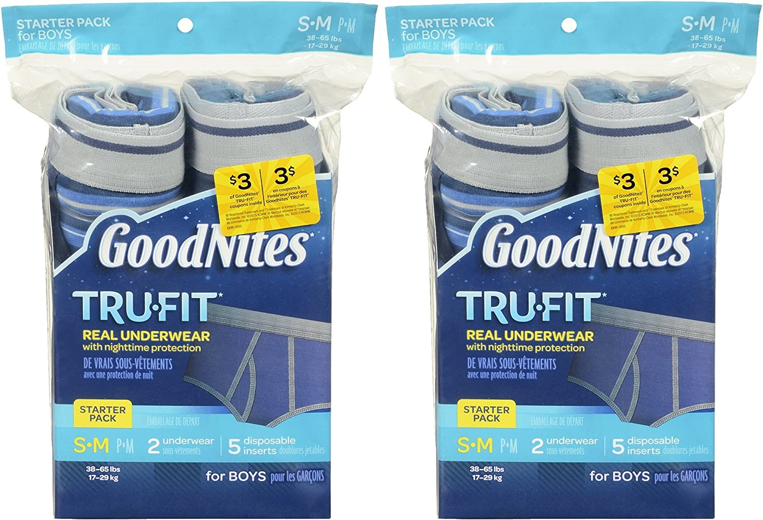 GoodNites Tru-Fit online shop Real Underwear with Nighttime Protection Soldering Start