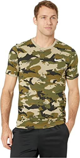 Dry Tee Dri-FIT Cotton Camo Aop