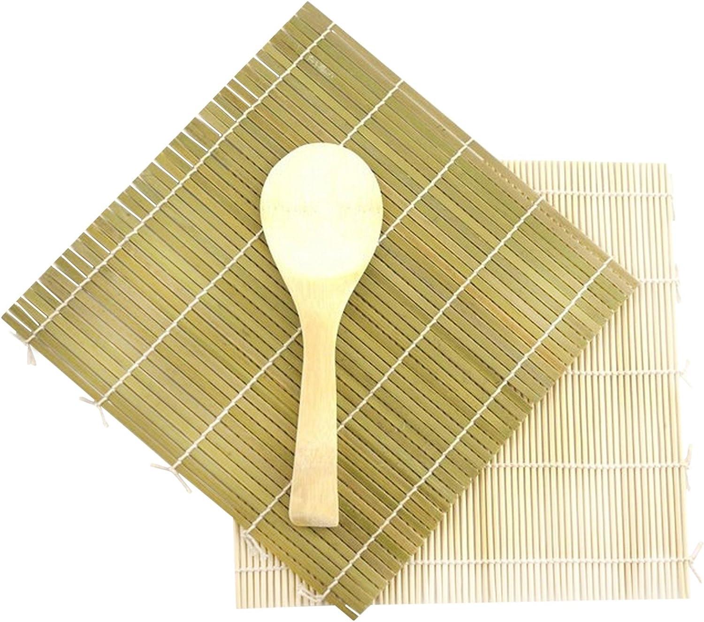 Bamboo Sushi Mat Bamboo Rice Paddle PAO Sushi Kit