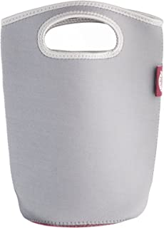 Kilner Make and Take Carry Bag for 1 Litre Clip Top Jars, Neoprene, Grey, 2.5 x 21 x 25 cm
