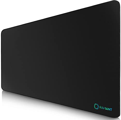 [100% AUSSIE-OWNED] RAVIANT Extended Gaming Mouse Pad (80cm X 30cm) with Stitched Edges, large mouse pad with Premium...