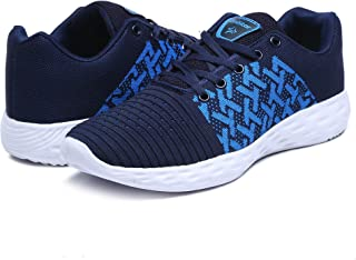 Unistar Knitted Upper EVA Sole Men's Breathable Sports Shoes - Running Shoes - Training Shoes