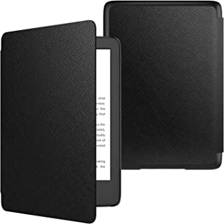 TiMOVO Amazon Kindle 第十世代 Newモデル ケース キンドル2019年発売専用カバー 高級PUレーザー オートスリープ機能 全面保護 耐衝撃 軽量 薄型 Black (Kindle Paperwhite/Kindle 8に対応できません)