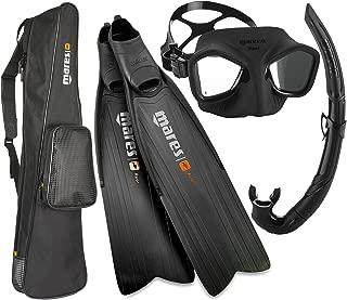 Mares Razor Pro Spearfishing Freediving Mask Fin Snorkel Set