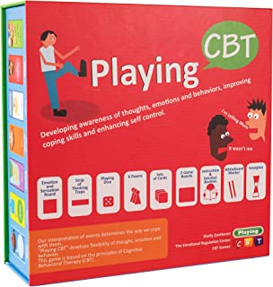 PlayingCBT - therapy game to develop awareness of thoughts, emotions and behaviors for improving social skills, coping skills and enhancing self control - New Version