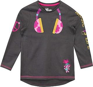 TROLLS Camiseta de Manga Larga para niñas Poppy