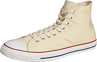 Converse Chuck Taylor All Star Hi Top Optical White Canvas Shoes