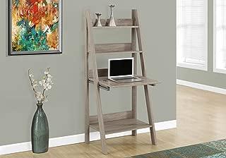 Monarch Specialties 7042 Ladder Desk-Bookcase-Wall Bookshelf-Stand Shelf, 61