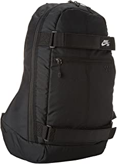 Nike Embarca Unisex Athletic Gym Cushioned Straps Backpack Black ba4686-067 c11ab2759a14f