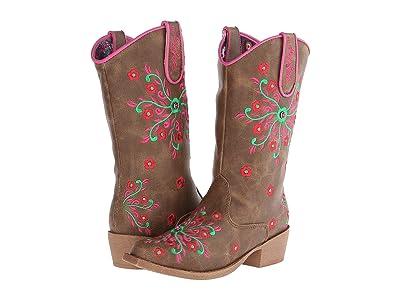 M&F Western Kids Savvy (Little Kid) (Brown) Cowboy Boots