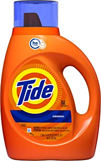 Tide Original Liquid Laundry Detergent, 32 Loads, 1.36L