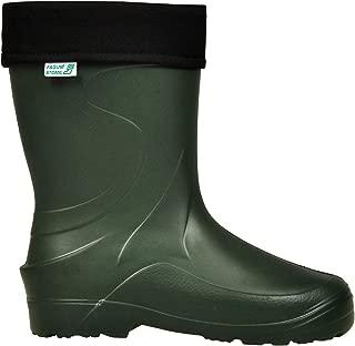 Talla: 7 Botas de Agua Green//Black Color: Verde v