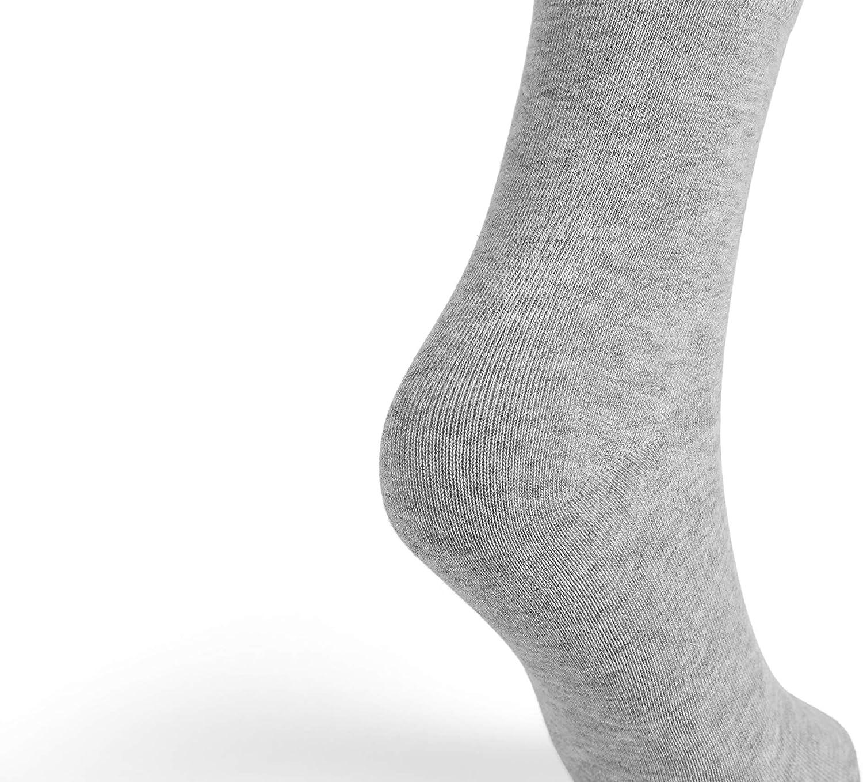 High Ankle Cotton Casual Socks For Women Men 6 Pack