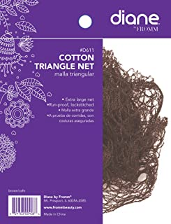 Diane Cotton Triangle Net - Brown (1-pack)