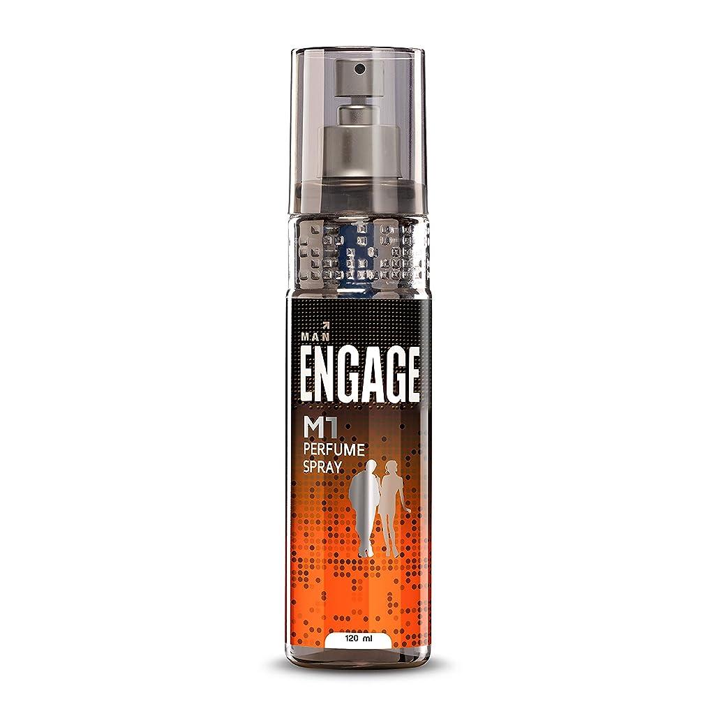 繕う花輪爆発Engage M1 Perfume Spray For Men, 120ml