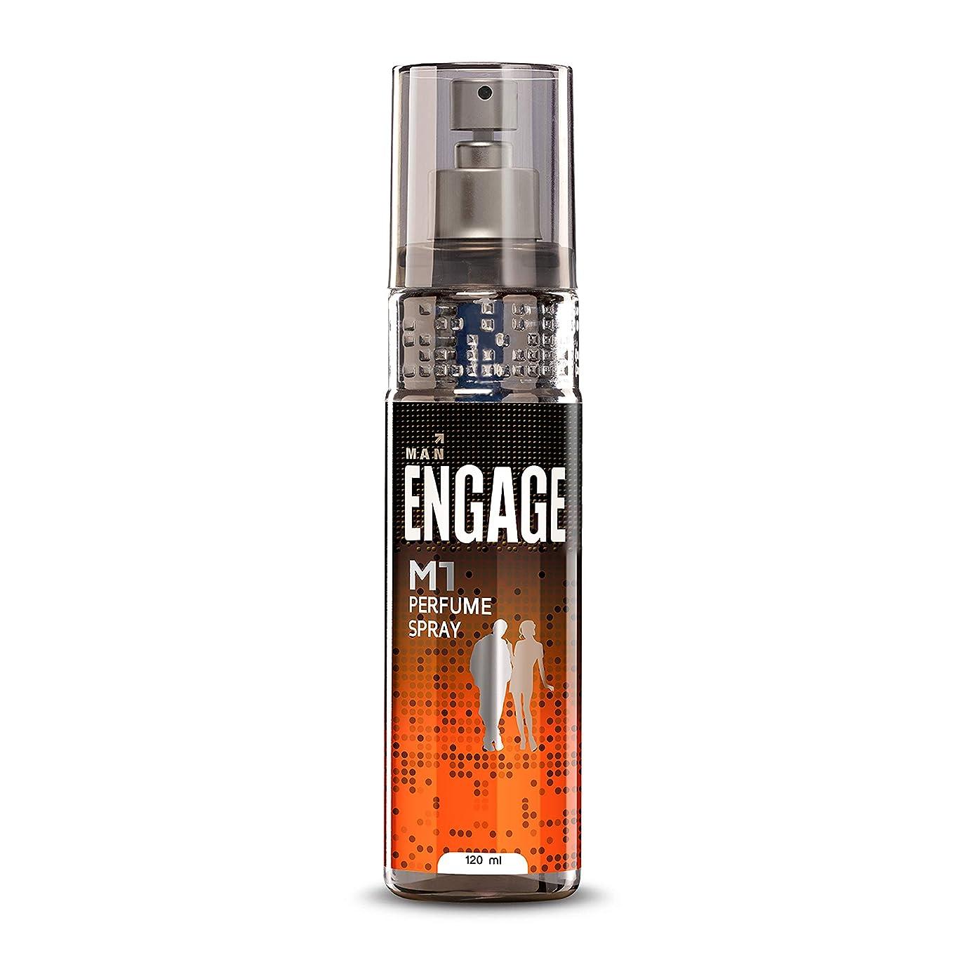 辞任倍率ポケットEngage M1 Perfume Spray For Men, 120ml