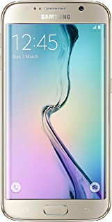 Samsung Galaxy S6 Edge G925T 32GB 4G LTE Smartphone - Unlocked (by T-Mobile) for All GSM Carriers - Gold Platinum