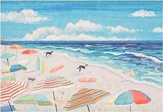 "Liora Manne ILU34330904 Illusions Dog Beach Indoor Outdoor Washable Area Rug, 2'5"" x 4'1"""