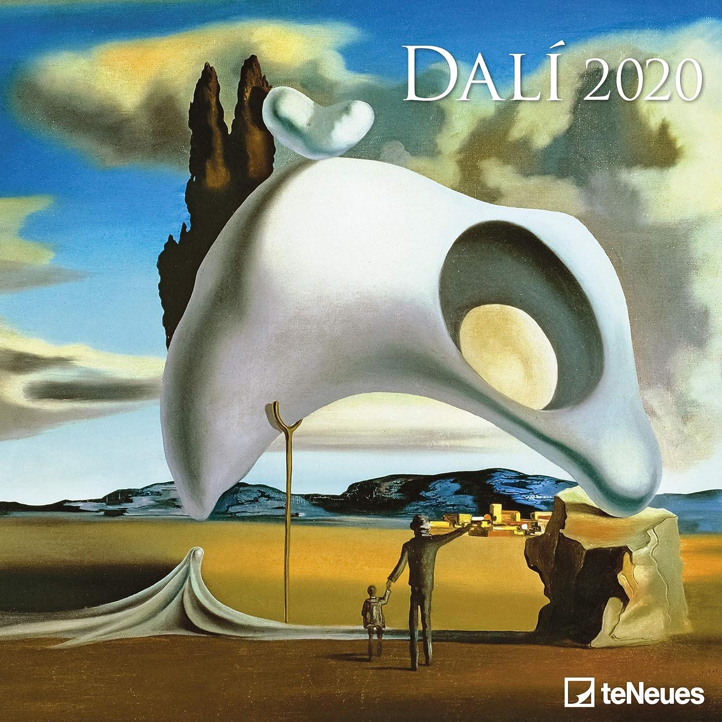 読書をするジャンプする軽減するDalí 2020 Broschuerenkalender