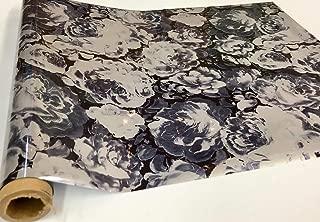 Metallic Foil - Dominic Flowers - Decorative Trasfer Roll 12