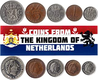 هواية الملوك عملات مختلفة - العملات الأجنبية القديمة والتحصيل الهولندية (هولندا) لجمع الكتب - مجموعات فريدة من المال التذك...