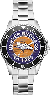 Gift for Denver Broncos NFL Football Fan Article Watch 6650