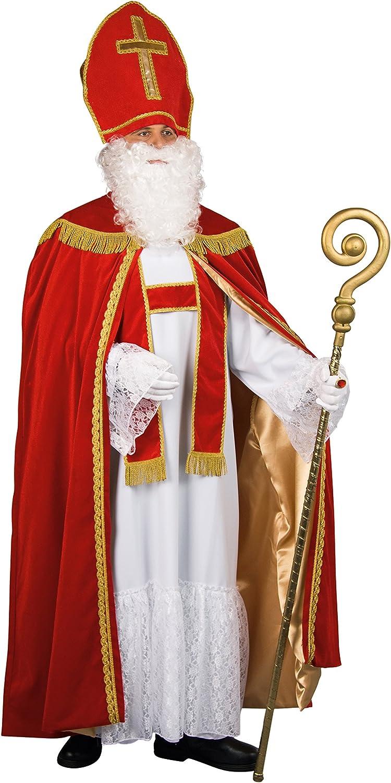 Bischof Sankt Nikolaus Komplett Kostüm edel + Zubehör aus Deutscher Herstellung B00NYW85LM  Online-Shop  | Niedriger Preis
