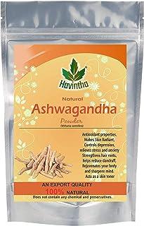 Havintha Ashwagandha Root Powder - 100 grams. (pack of 1)