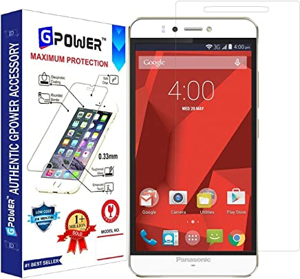 G-POWER ®2.5D 0.3mm Tempered Glass Screen Protector for PANASONIC P55 NOVO with Installation Kit