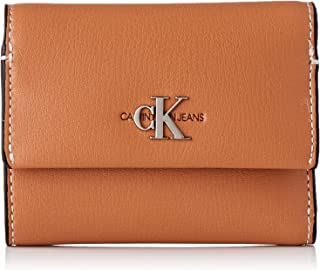 Calvin Klein Jeans Mono Hardware Med Trifold Wallets, Card Cases & Money Organizers, Brown, 12 cm - K60K606609