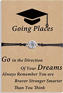 Graduation Gifts for Her 2021 Compass Bracelet Seniors...