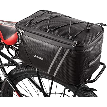 MTB Mountain Bike 7ltr Rear Seat Rack Trunk Bag Pack Pannier Carrier Waterproof