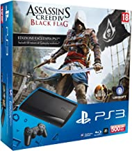 PlayStation 3 - Console 500 GB con Assassin's Creed IV: Black Flag e The Last Of Us [Bundle]