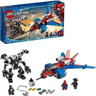 LEGO Marvel Spider-Man Spider-Jet vs Venom Mech 76150...