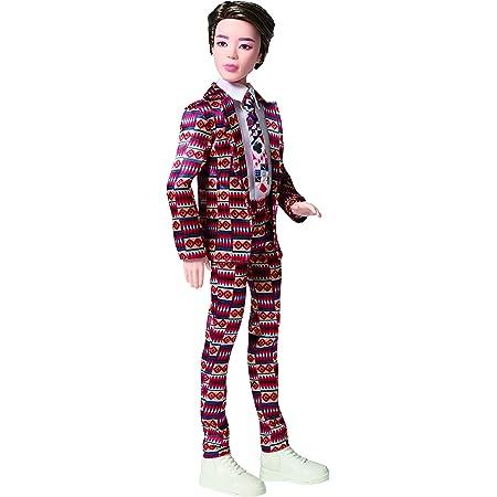 Mattel BTS - Muñeco Jimin, figura de colección, miembro banda coreana de K-pop (GKC93)