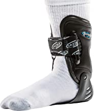 Ultra Ankle High-5 Ankle Brace for Chronic Ankle Instability and Reoccurring Joint Pain, Fits Left or Right Ankle, Great for Volleyball, Football, Basketball and Lacrosse - Black/Medium