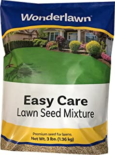 Wonderlawn Easy Care Transition Zone Lawn Seed Mixture Turf-Type Tall Fescue and Kentucky Bluegrass, 3 lb Bag