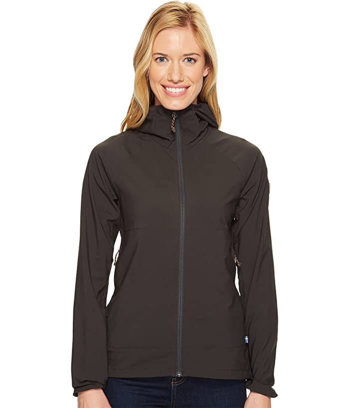 Fjallraven Abisko Hybrid Breeze Jacket (Dark Grey) Women