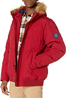 Men's Arctic Cloth Full Length Quilted Snorkel Jacket (Standard and Big & Tall)
