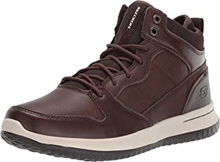 Skechers Mens Delson Ralcon Lace Up High Top Sneaker