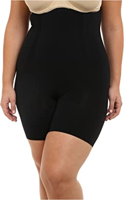 Plus Size OnCore High-Waisted Mid-Thigh Short