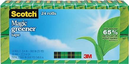 شريط أخضر سوتش ماجيك جرينر، 3/4 × 900 بوصة، ملاكم، 24 لفة (812-24P)