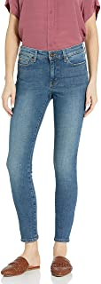 Goodthreads Mid-Rise Skinny Jeans, Azul (Authentic Blue), 26 Short