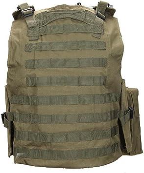YUANYUAN520 Militaire Gilet Tactique Poitrine Rig Combat Taille Ceinture Hommes Arm/ée Airsoft /Équipement De Paintball En Plein Air Chasse Gilet ext/érieure