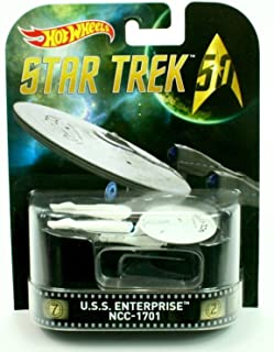 HOT WHEELS STAR TREK U.S.S. ENTERPRISE NCC-1701 RETRO