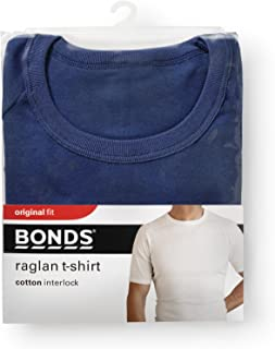 Bonds Men's Cotton Blend Raglan Cut T-Shirt