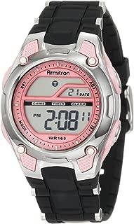 Armitron Sport Women's 45/6984 Digital Chronograph Resin Strap Watch